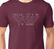 Hello - Dark Unisex T-Shirt