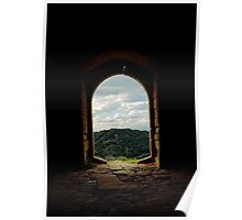 Portalada Castell de Castellcir Poster
