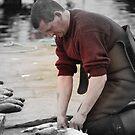 The Fisherman by NordicBlackbird