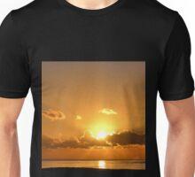 December Sunset Over Lyme, Dorset UK-2014-12-13 Unisex T-Shirt