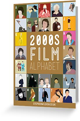 00s Film Alphabet by Stephen Wildish