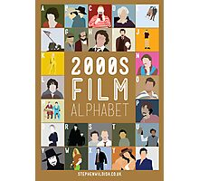 00s Film Alphabet Photographic Print