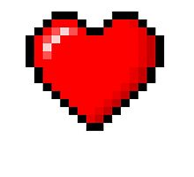 8-bit Heart by blue9ba