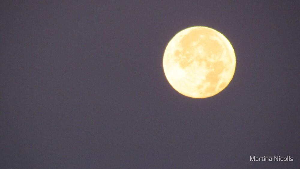 Lunar Eclipse, December 2011 by Martina Nicolls