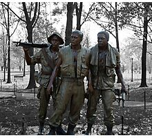 The Three Soldiers Photographic Print