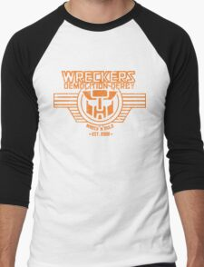 Wreck 'n' Rule Men's Baseball ¾ T-Shirt