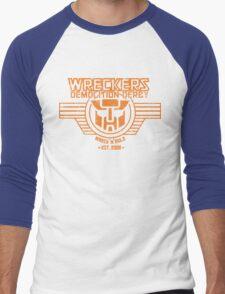 Wreck 'n' Rule Men's Baseball ¾ T-Shirt