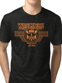Wreck 'n' Rule Tri-blend T-Shirt