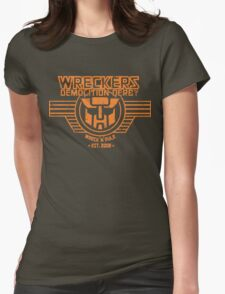 Wreck 'n' Rule Womens Fitted T-Shirt