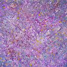 Lavender Haze Abstract Painting by Don Wright