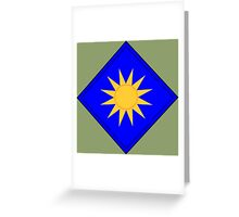40th Infantry Division (United States) Greeting Card
