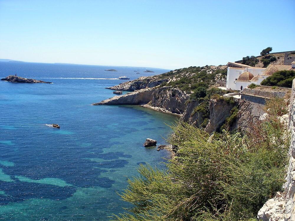 Blue Waters Around Ibiza by Fara