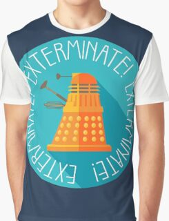 Doctor Who Dalek Exterminate! Graphic T-Shirt