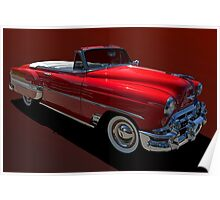 1954 Chevrolet Convertible Bel Air Poster