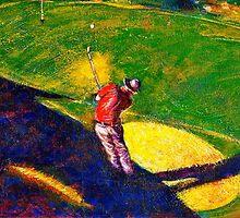 Babyboomer Golfing by ivDAnu