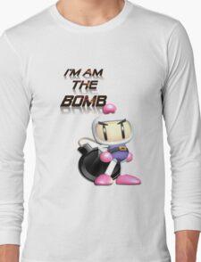 Bomberman: I'm am the BOMB Long Sleeve T-Shirt