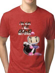 Bomberman: I'm am the BOMB Tri-blend T-Shirt