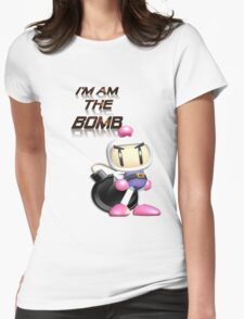 Bomberman: I'm am the BOMB Womens Fitted T-Shirt