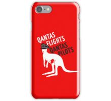 Qantas Flights, Qantas Pilots iPhone Case/Skin