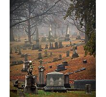 Old Gray Cemetery-1945 Photographic Print
