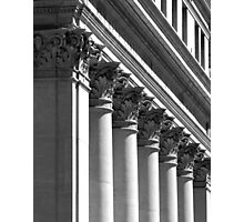 Row of classical columns Photographic Print