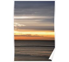 Panning a Sunset Poster