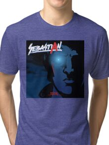 Total VS Nightcall (Cover Artist Swap) Tri-blend T-Shirt