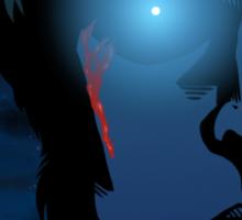Total VS Nightcall (Cover Artist Swap) Sticker