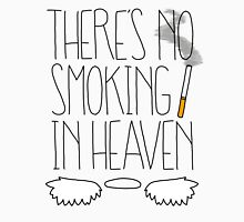 There's No Smoking in Heaven Mens V-Neck T-Shirt