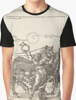 Albrecht Dürer or Durer The Triumphal Chariot of Maximilian I The Great Triumphal Car plate 6 of 8 Graphic T-Shirt