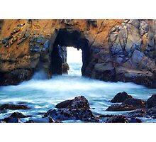 Rock Wall - Julia Pfeiffer Beach Photographic Print