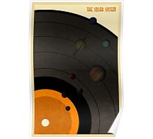 The Solar System LP Poster