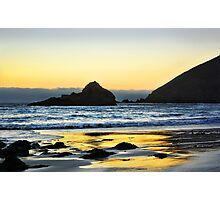 Gleaming Sunset Photographic Print
