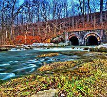 """ Ninemile Creek - Camillus, NY "" by DeucePhotog"