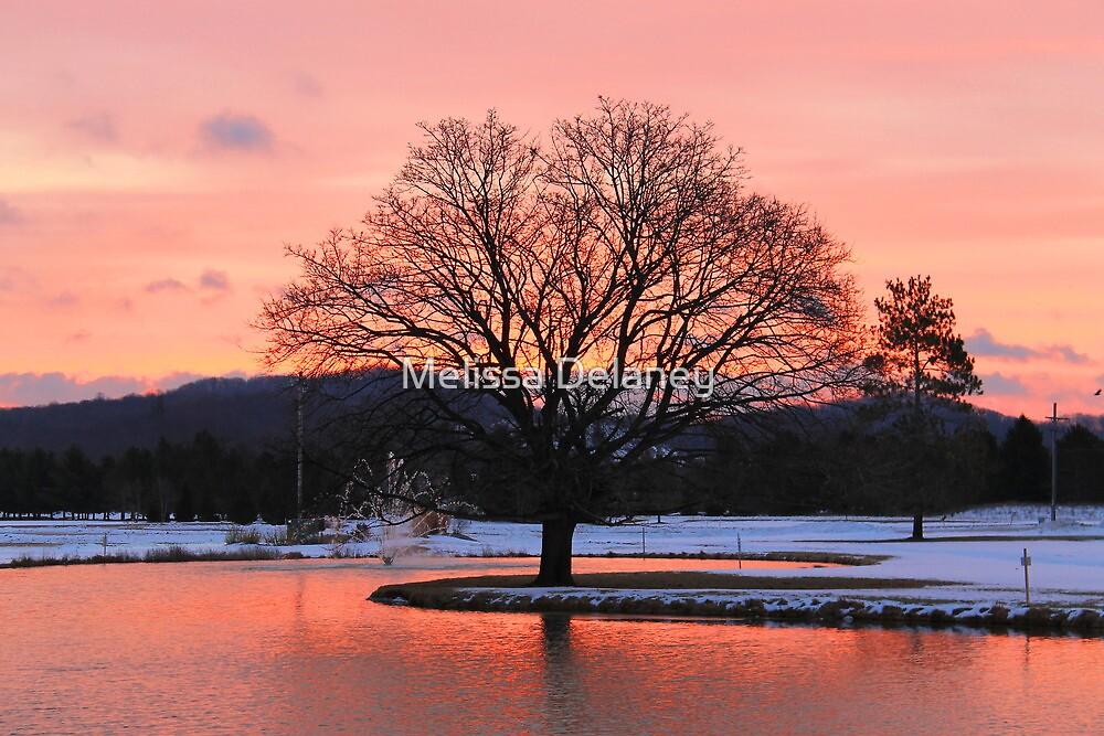 Sunrise at Boyne Mountain Resort by Melissa Delaney