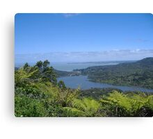 View from the Waitakere Ranges Canvas Print