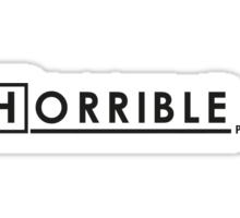DR. HORRIBLE, PHD. Sticker