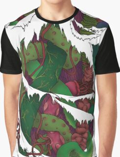 Tentacles within Graphic T-Shirt