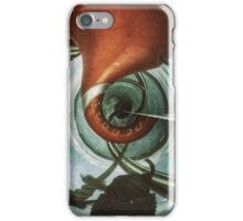 Distort and solarized. iPhone Case/Skin