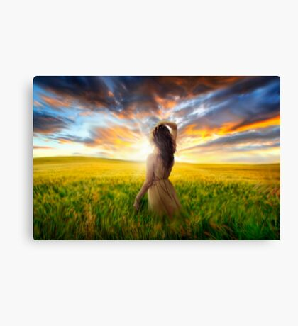 Brand New Day Canvas Print