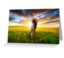 Brand New Day Greeting Card