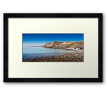 Second Valley, South Australia Framed Print