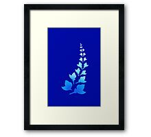 Cerulean [Print and iPhone / iPod Case] Framed Print