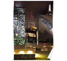 Federation Square - Melbourne Poster