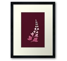 Cerise [Print and iPhone / iPod Case] Framed Print