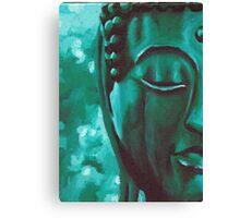 Jade Buddha Canvas Print