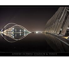 Athens Olympic Stadium & Venus Photographic Print