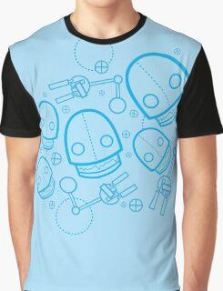 Spaztic Bots Graphic T-Shirt