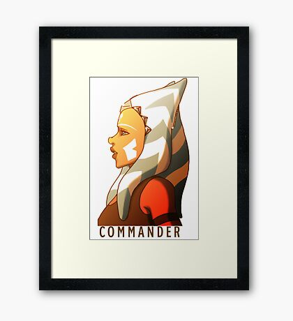 Commander Tano Framed Print
