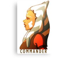 Commander Tano Canvas Print